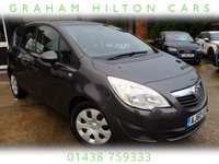 USED 2010 N VAUXHALL MERIVA 1.7 S 5d 128 BHP ONE PREVIOUS OWNER, AIR CON, FULL SERVICE HISTORY, SPARE KEY