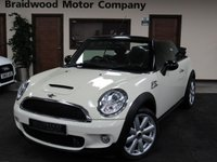 USED 2009 09 MINI CONVERTIBLE 1.6 COOPER S 2d 175 BHP