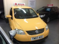 USED 2007 07 VOLKSWAGEN FOX 1.2 URBAN  Ideal 1st Car