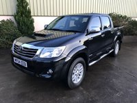 USED 2014 64 TOYOTA HI-LUX 3.0 INVINCIBLE 4X4 D-4D DCB 1d 169 BHP REVERSE CAMERA, TOW BAR, BLUETOOTH, SIDE STEPS