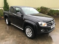 USED 2016 16 VOLKSWAGEN AMAROK 2.0 DC TDI HIGHLINE 4MOTION 1d AUTO 180 BHP ROLLER SHUTTER, LOW MILES, LEATHER, SAT NAV
