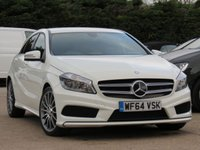 USED 2014 64 MERCEDES-BENZ A CLASS 1.5 A180 CDI BLUEEFFICIENCY AMG SPORT 5d 109 BHP 18 INCH ALLOYS, AA DEALER PROMISE