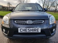 USED 2010 59 KIA SPORTAGE 2.0 XS CRDI 5d FULL LEATHER