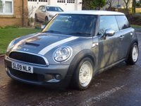 USED 2009 09 MINI HATCH COOPER 1.6 COOPER S 3d 172 BHP 2 PREVIOUS KEEPER ++   LEATHER TRIM ++  FULL SERVICE RECORD ++   2 KEYS ++  PRIVACY GLASS