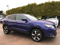 2014 NISSAN QASHQAI 1.5 DCI N-TEC 5d ONE OWNER FROM NEW WITH SERVICE HISTORY  £12000.00