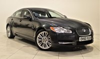 USED 2010 60 JAGUAR XF 3.0 V6 PREMIUM LUXURY 4d AUTO 240 BHP + 1 PREV OWNER  + AIR CON + AUX + BLUETOOTH + SERVICE HISTORY