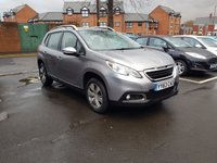 USED 2013 63 PEUGEOT 2008 1.2 ACTIVE 5d 82 BHP WITH AIR CONDITIONING AND ALLOY WHEELS..EXCELLENT FUEL ECOONMY!!..LOW CO2 EMISSIONS..LOW ROAD TAX...FULL HISTORY...ONLY 4249 MILES FROM NEW!!