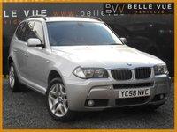 2009 BMW X3 2.0 XDRIVE20D M SPORT 5d AUTO 175 BHP £8495.00