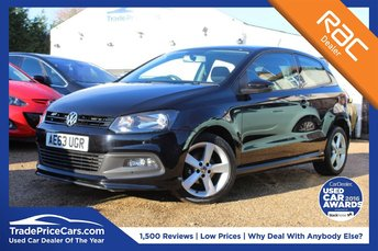 2013 VOLKSWAGEN POLO 1.2 R-LINE STYLE AC 3d 60 BHP £6500.00