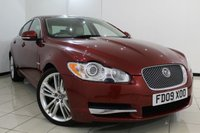 USED 2009 09 JAGUAR XF 3.0 V6 PORTFOLIO 4DR AUTOMATIC 240 BHP FULL JAGUAR SERVICE HISTORY + 0% FINANCE AVAILABLE T&C'S APPLY + HEATED/COOLED LEATHER SEATS + SAT NAVIGATION + REVERSE CAMERA + PARKING SENSOR + BLUETOOTH + CRUISE CONTROL + MULTI FUNCTION WHEEL + 20 INCH ALLOY WHEELS