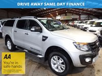 2014 FORD RANGER 3.2 WILDTRAK 4X4 DCB TDCI  AUTO 197 BHP-ONE OWNER-FULL SERVICE HISTORY £15950.00