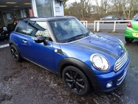 USED 2011 61 MINI HATCH COOPER 1.6 COOPER 3d 122 BHP Low Mileage, Full Service History + Just Serviced by ourselves, MOT until May 2018 (no advisories), Two Previous Owners