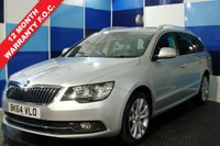 USED 2014 64 SKODA SUPERB 2.0 SE BUSINESS TDI CR DSG 5d AUTO 138 BHP Lovely example with full documented service history, finished in the new white (Silver) with Alloy wheels and good specification , only one owner from new and come in direct from VW. Excellent combined MPG of 55.4 , Interior is stunning in half leather and alcantara suede interior, with DSG Gearbox, DAB radio, start / stop, Lovely looking discerning car.