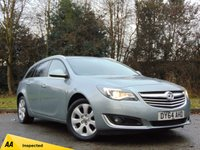 USED 2014 64 VAUXHALL INSIGNIA 2.0 SRI NAV CDTI ECOFLEX S/S 5d 138 BHP FULL AA 128 POINT INSPECTION AND FULL SERVICE HISTORY