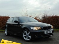USED 2011 11 BMW 1 SERIES 2.0 116I SPORT 5d 121 BHP * 128 POINT AA INSPECTED *