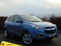USED 2013 13 HYUNDAI IX35 2.0 PREMIUM CRDI 4WD 5d  * 128 POINT AA INSPECTED *