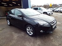 USED 2011 61 FORD FOCUS 1.6 ZETEC 5d 104 BHP FULL SERVICE HISTORY