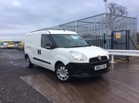 2015 FIAT DOBLO 1.6 16V MULTIJET 1d 105 BHP VAN LONGWHEEL BASE, TWIN SIDE LOADING DOORS £5995.00