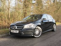2014 MERCEDES-BENZ A CLASS 1.5 A180 CDI BLUEEFFICIENCY AMG SPORT 5d 109 BHP £15450.00