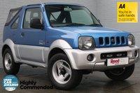 USED 2002 52 SUZUKI JIMNY 1.3 O2 JLX SOFT TOP 3d 80 BHP FSH+CAM BELT CHANGED