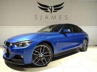 2014 BMW 3 SERIES 3.0 330D M SPORT 4d AUTO 255 BHP £18490.00