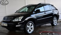 USED 2005 05 LEXUS RX 300 SE 5 DOOR AUTO 202 BHP Finance? No deposit required and decision in minutes.