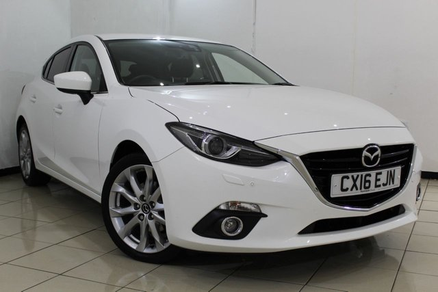 View our 2016 16 MAZDA 3 1.5 D SPORT NAV 5DR 104 BHP