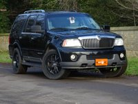 USED 2005 05 LINCOLN NAVIGATOR 5.4 4dr LHD HEATED LEATHER 7 SEATS