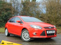 USED 2013 13 FORD FOCUS 1.0 ZETEC 5d 99 BHP FULL AA INSPECTION AND FULL SERVICE HISTORY
