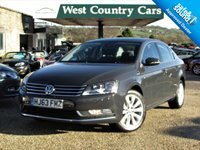 USED 2013 63 VOLKSWAGEN PASSAT 2.0 HIGHLINE TDI BLUEMOTION TECHNOLOGY 4d 139 BHP £30 For A Years Tax And 50+MPG, VAT Qualifying