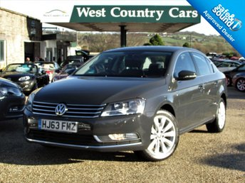 2013 VOLKSWAGEN PASSAT 2.0 HIGHLINE TDI BLUEMOTION TECHNOLOGY 4d 139 BHP £9500.00