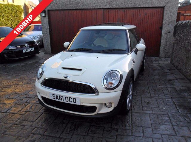 2011 61 MINI HATCH COOPER 1.6 COOPER S 3d 184 BHP