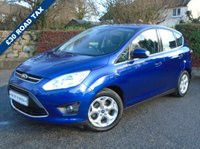 USED 2014 64 FORD C-MAX 1.6 ZETEC TDCI 5d 114 BHP ** FMDSH + £30 TAX + 1 OWNER **