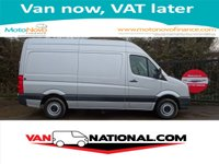 2014 VOLKSWAGEN CRAFTER 2.0 CR35 TDI MWB HIGH ROOF 140BHP (ONE OWNER FSH) £11990.00