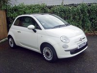 2012 FIAT 500 1.2 LOUNGE 3d 69 BHP £4999.00