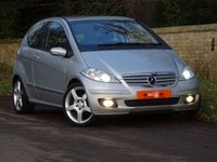 USED 2005 55 MERCEDES-BENZ A CLASS 2.0 A200 TURBO 3dr  FSH SATNAV HEATED SEATS