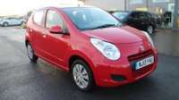 USED 2013 13 SUZUKI ALTO 1.0 SZ 5d 68 BHP LOW DEPOSIT OR NO DEPOSIT FINANCE AVAILABLE.