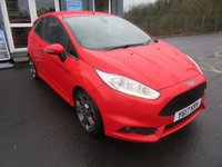 USED 2017 17 FORD FIESTA 1.6 ST-3 3d 180 BHP Finance me now! 1 owner. Low miles. Mega spec