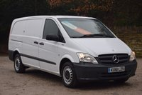USED 2012 61 MERCEDES-BENZ VITO 2.1 113 CDI BLUEEFFICIENCY  136 BHP