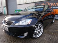 USED 2008 58 LEXUS IS 2.2 220D SPORT 4d 175 BHP Superb Condition, Low Mileage, FSH, No Fee, No Deposit Finance Available