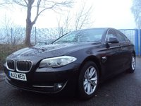 2012 BMW 5 SERIES 2.0 520D SE 4d 181BHP £9290.00