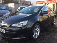 2012 VAUXHALL ASTRA 1.7 GTC SRI CDTI S/S 3d 1 PREVIOUS OWNER £7399.00