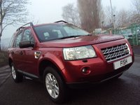 USED 2007 LAND ROVER FREELANDER 2 2.2 TD4 XS 5d 159 BHP FSH 7STAMPS+2KEYS+4X4+LEATHER+