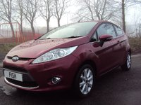 USED 2009 09 FORD FIESTA 1.4 ZETEC 16V 3d 96BHP 1 FORM KEEPER+FSH 6STAMPS+CDC+