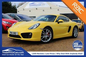 2013 PORSCHE CAYMAN 3.4 24V S PDK 2d AUTO 325 BHP £40000.00