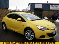 USED 2013 63 VAUXHALL ASTRA 1.6 GTC SRI 3d 177 BHP A Fully Loaded Astra Gtc With Rear Parking Sensors 2 keys Alloy Wheels, Full Service History !!!