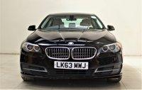 USED 2013 63 BMW 5 SERIES 2.0 520D SE 4d 181 BHP + 1 PREVIOUS OWNER +  SAT NAV + AIR CON + AUX