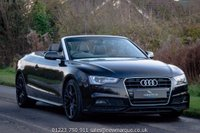 2016 AUDI A5 CABRIOLET 2.0 TDI S Line Plus Special Edition Cabriolet Multitronic 2dr (start/stop) £22950.00
