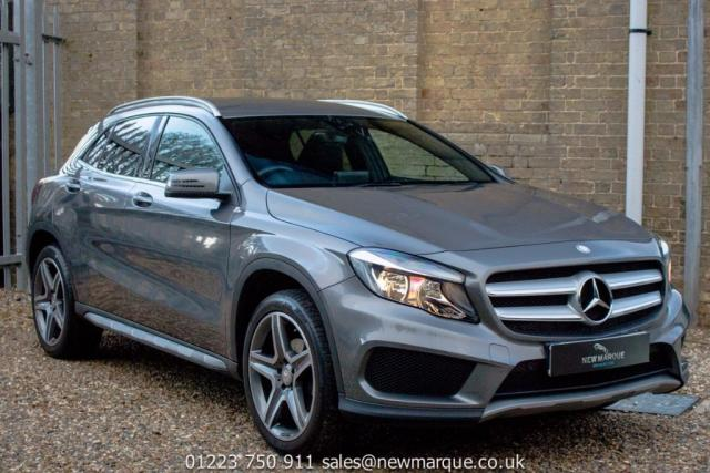 2016 66 MERCEDES-BENZ GLA-CLASS 2.1 GLA200 AMG Line 5dr (start/stop)