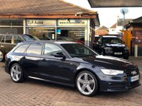 2014 AUDI A6 2.0TDi AVANT ULTRA BLACK EDITION  £15750.00